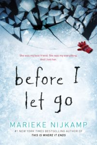 "Book Cover for ""Before I Let Go"" by Marieke Nijkamp"