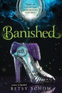 "Book Cover for ""Banished"" by Betsy Schow"