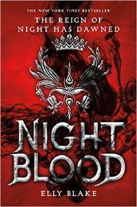 "Book Cover for ""Nightblood"" by Elly Blake"