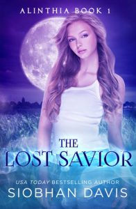 "Book Cover for ""The Lost Savior"" by Siobhan Davis"