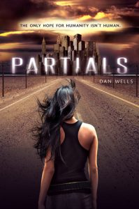 "Book Cover for ""Partials"" by Dan Wells"