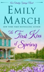 "Book Cover for ""The First Kiss of Spring"" by Emily March"