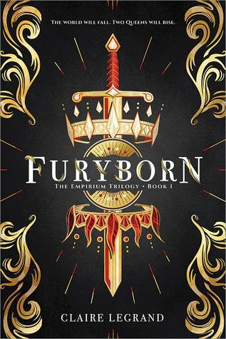 """Book Cover for """"Furyborn"""" by Claire Legrand"""