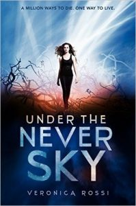 "Book Cover for ""Under the Never Sky"" by Veronica Rossi"