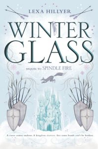 "Book Cover for ""Winter Glass"" by Lexa Hillyer"