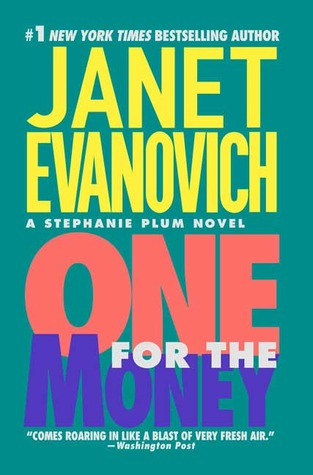 "Book Cover for ""One for the Money"" by Janet Evanovich"
