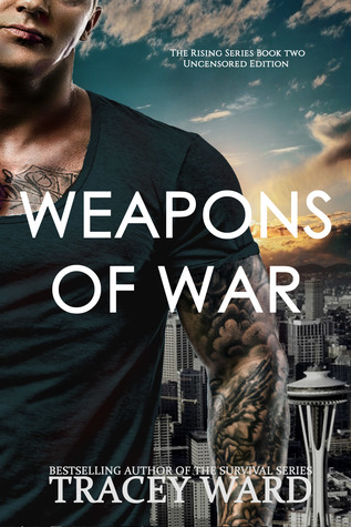 "Book Cover for ""Weapons of War"" by Tracey Ward"