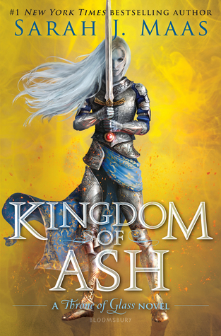 "Book Cover for ""Kingdom of Ash"" by Sarah J. Maas"