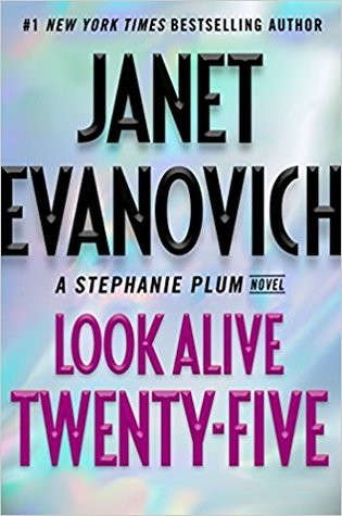 "Book Cover for ""Look Alive Twenty-Five"" by Janet Evanovich"