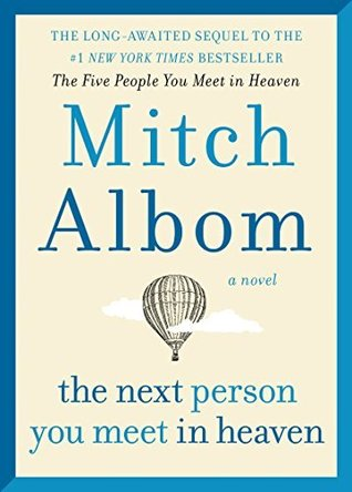 "Book Cover for ""The Next Person You Meet in Heaven"" by Mitch Albom"
