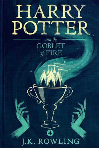 "Book Cover for ""Harry Potter and the Goblet of Fire"" by J.K. Rowling"