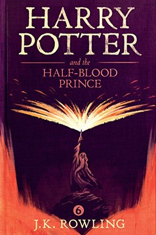 "Book Cover for ""Harry Potter and the Half-Blood Prince"" by J.K. Rowling"