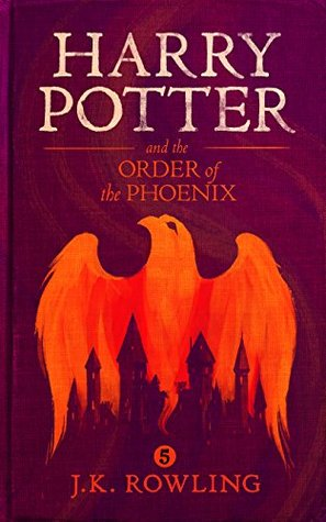 "Book Cover for ""Harry Potter and the Order of the Phoenix"" by J.K. Rowling"
