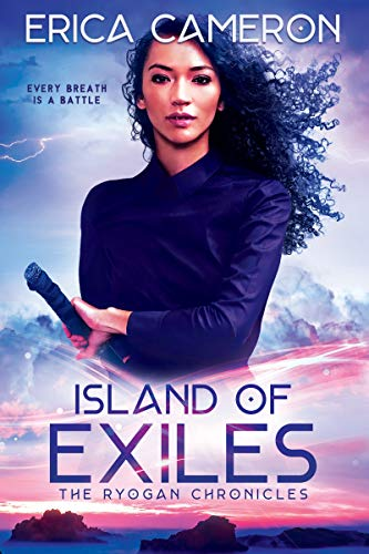 "Book Cover for ""Island of Exiles"" by Erica Cameron"