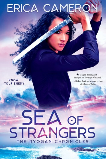 "Book Cover for ""Sea of Strangers"" by Erica Cameron"