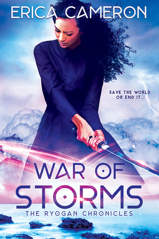 "Book Cover for ""War of Storms"" by Erica Cameron"