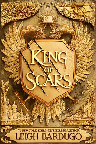 "Book Cover for ""King of Scars"" by Leigh Bardugo"