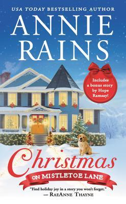 "Book Cover for ""Christmas on Mistletoe Lane"" by Annie Rains"