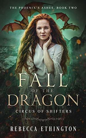 "Book Cover for ""Fall of the Dragon"" by Rebecca Ethington"
