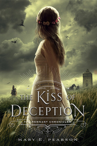 "Book Cover for ""Kiss of Deception"" by Mary E. Pearson"
