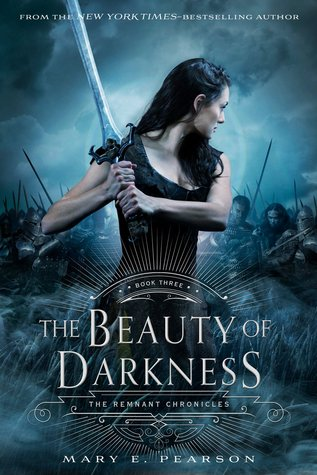 "Book Cover for ""Beauty of Darkness"" by Mary E. Pearson"