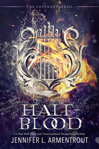 "Book Cover for ""Half-Blood"" by Jennifer L. Armentrout"