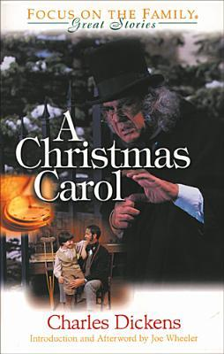"Book Cover for ""A Christmas Carol"" by Charles Dickens"
