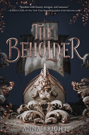 "Book Cover for ""The Beholder"" by Anna Bright"