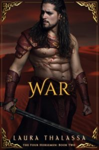 "Book Cover for ""War"" by Laura Thalassa"