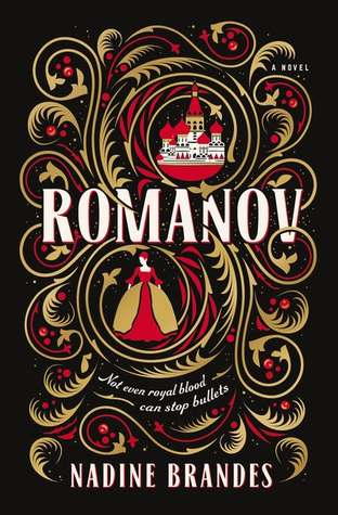"Book Cover for ""Romanov"" by Nadine Brandes"