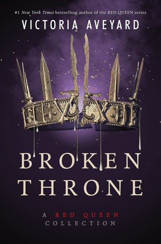 "Book Cover for ""Broken Throne"" by Victoria Aveyard"