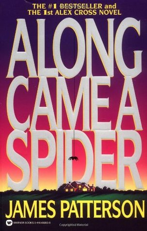 "Book Cover for ""Along Came a Spider"" by James Patterson"