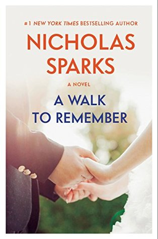 "Book Cover for ""A Walk to Remember"" by Nicholas Sparks"