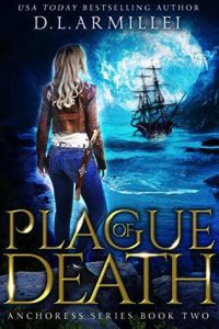 "Book Cover for ""Plague of Death"" by D.L. Armillei"