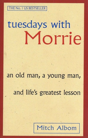 "Book Cover for ""Tuesdays with Morrie"" by Mitch Albom"