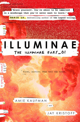 "Book Cover for ""Illuminae"" by Amie Kaufman and Jay Kristoff"