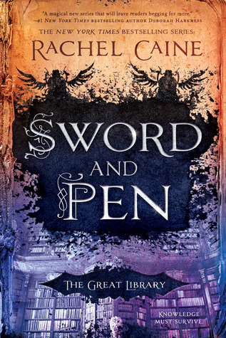 "Book Cover for ""Sword and Pen"" by Rachel Caine"