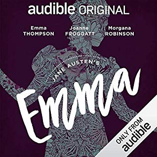 "Audiobook Cover for ""Emma"" by Jane Austen"