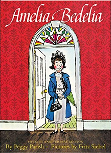 "Book Cover for ""Amelia Bedelia"" by Peggy Parishg"