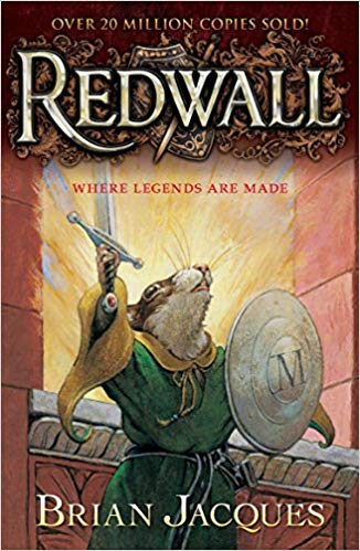 "Book Cover for ""Redwall"" by Brian Jacques"
