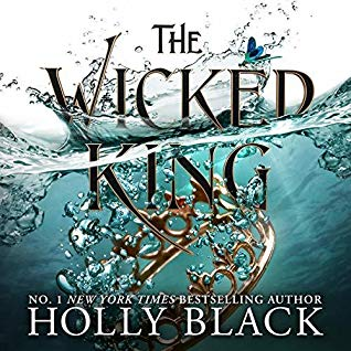 "Audiobook Cover for ""The Wicked King"" by Holly Black"