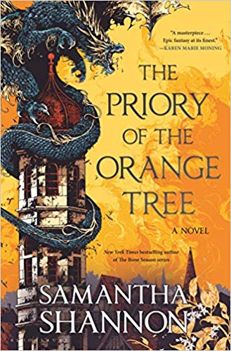 "Book Cover for ""The Priory of the Orange Tree"" by Samantha Shannon"