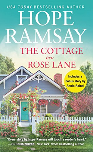 "Book Cover for ""The Cottage on Rose Lane"" by Hope Ramsay"