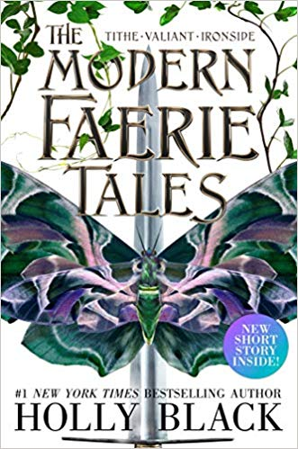 "Book Cover for ""The Modern Faerie Tales"" by Holly Black"