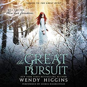 """Audiobook Cover for """"The Great Pursuit"""" by Wendy Higgins"""
