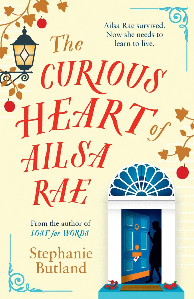 """Book Cover for """"The Curious Heart of Alisa Rae"""" by Stephanie Butland"""