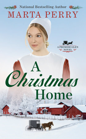"Book Cover for ""A Christmas Home"" by Marta Perry"