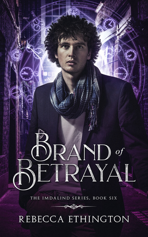 "Book Cover for ""Brand of Betrayal"" by Rebecca Ethington"