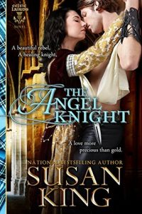 "Book Cover for ""The Angel Knight"" by Susan King"