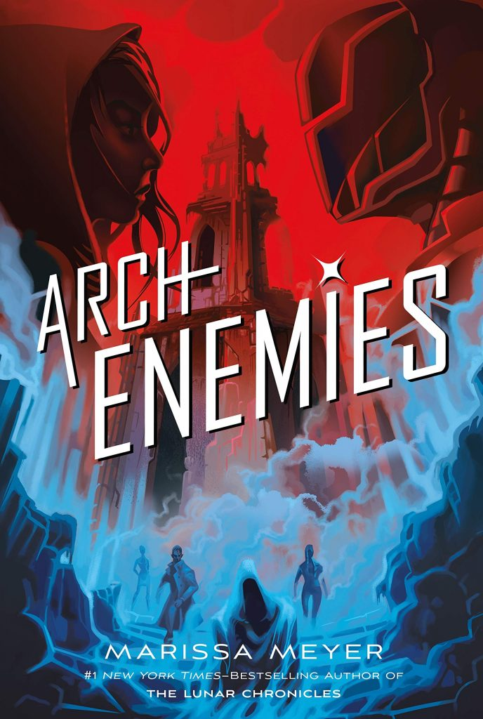 "Book Cover for ""Archenemies"" by Marissa Meyer"